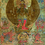 Metropolitan Museum: part 2 - Unknown - Panel from Painting of a Thousand-Armed Guanyin