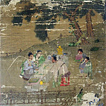 Metropolitan Museum: part 2 - Wang Li Mu - Studying the Diagram