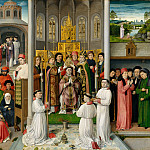Master of Saint Augustine – Scenes from the Life of Saint Augustine, Metropolitan Museum: part 2