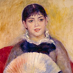 Renoir, Pierre-Auguste – Girl with a Fan, part 10 Hermitage