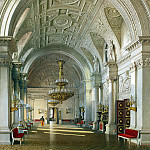 Premazzi, Luigi – Types of rooms of the Winter Palace. White Hall, part 10 Hermitage