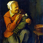 part 10 Hermitage - Reykart, David III - Peasant Woman with a Cat