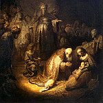 Rembrandt, Harmenszoon van Rijn – The Adoration of the Magi, part 10 Hermitage