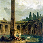 Robert, Hubert – Decorative Landscape with Obelisk, part 10 Hermitage