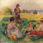 Renoir, Pierre-Auguste – The Community in Bernevale, part 10 Hermitage