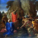 Poussin, Nicolas – Moses, excising the water from the rock, part 10 Hermitage