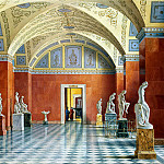part 10 Hermitage - Premazzi, Luigi - Types halls of the New Hermitage. Hall of Russian sculpture