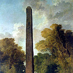 Robert, Hubert – Landscape with Obelisk, part 10 Hermitage