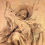 St. Athanasius. Turnover outline figures, Peter Paul Rubens