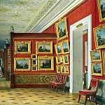 part 10 Hermitage - Premazzi, Luigi - Types of rooms of the New Hermitage. Gallery of Flemish paintings