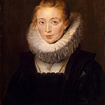 Portrait of the Infanta Isabellas maid, Peter Paul Rubens