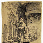 Rembrandt, Harmenszoon van Rijn – The Blind Tobit, part 10 Hermitage