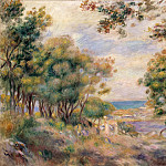 Renoir, Pierre-Auguste – Landscape at Beaulieu, part 10 Hermitage