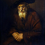 Rembrandt, Harmenszoon van Rijn – Portrait of an old Jew, part 10 Hermitage