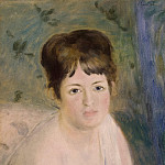 Head of a Woman, Pierre-Auguste Renoir