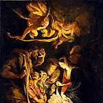 Rubens, Peter Paul – The Adoration of the Shepherds, part 10 Hermitage