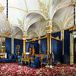 part 10 Hermitage - Premazzi, Luigi - Types of rooms of the Winter Palace. Bedroom of Empress Maria Alexandrovna