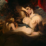 Reynolds, Joshua – Cupid Untying the Girdle of Venus, part 10 Hermitage