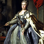 Rokotov, Fyodor Stepanovich – Portrait of Catherine II , part 10 Hermitage