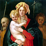 part 10 Hermitage - Pontormo, Jacopo Karuchchi - Madonna and Child, St. Joseph and John the Baptist