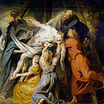 Rubens, Peter Paul – Descent from the Cross , part 10 Hermitage