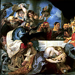 Rubens, Peter Paul – Feast at Simon the Pharisee, part 10 Hermitage