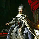 part 10 Hermitage - Rokotov, Fyodor Stepanovich - Portrait of Catherine II (3)