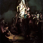 Rembrandt, Harmenszoon van Rijn – Descent from the Cross, part 10 Hermitage