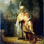 Rembrandt, Harmenszoon van Rijn – David and Jonathan, part 10 Hermitage