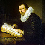 Rembrandt, Harmenszoon van Rijn – Portrait of a scientist, part 10 Hermitage