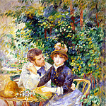 In the garden, Pierre-Auguste Renoir