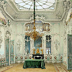part 10 Hermitage - Premazzi, Luigi - Types of rooms in the Winter Palace. Green dining