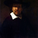 part 10 Hermitage - Rembrandt, Harmenszoon van Rijn - Portrait of the Poet Jeremias de Decker