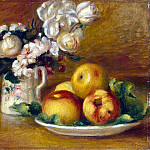 Apples and Flowers, Pierre-Auguste Renoir