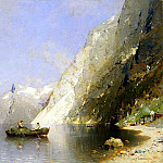 Rasmussen, Georg Anton – Fjord in Norway, part 10 Hermitage