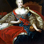 Peng, Antoine – Portrait of Princess Johanna Elizabeth of Anhalt-Zerbst, part 10 Hermitage