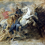 Rubens, Peter Paul – Lion Hunt, part 10 Hermitage