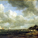 Ruisdael, Jacob van ai – Seashore, part 10 Hermitage