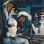 Rouault, Georges – Nude with arms raised, part 10 Hermitage