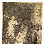Rembrandt, Harmenszoon van Rijn – The Beheading of John the Baptist, part 10 Hermitage
