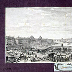 Rigaud, Jacques – View on the Seine from the Pont Neuf, part 10 Hermitage