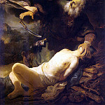 part 10 Hermitage - Rembrandt, Harmenszoon van Rijn - The Sacrifice of Abraham