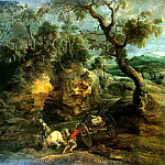 part 10 Hermitage - Rubens, Peter Paul - The drivers stones