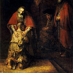 Rembrandt, Harmenszoon van Rijn – The Return of the Prodigal Son, part 10 Hermitage