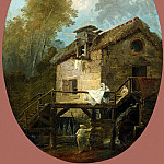 Robert, Hubert – Landscape with a Mill, part 10 Hermitage