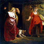 part 10 Hermitage - Rubens, Peter Paul - Care Hagar from Abrahams house