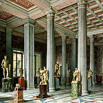 Premazzi, Luigi – Types halls of the New Hermitage. Hall of Ancient Sculpture, part 10 Hermitage