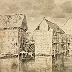 Ruisdael, Jacob van ai – Water mills, part 10 Hermitage