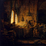 part 10 Hermitage - Rembrandt, Harmenszoon van Rijn - The Parable of the Labourers in the Vineyard