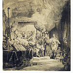 Rembrandt, Harmenszoon van Rijn – Death of the Virgin Mary, part 10 Hermitage
